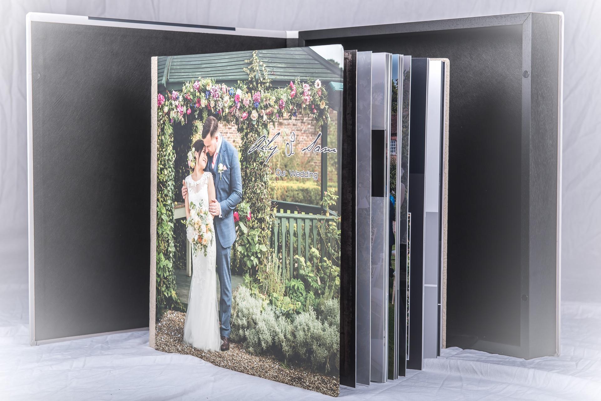 Album 40x40cm + Box