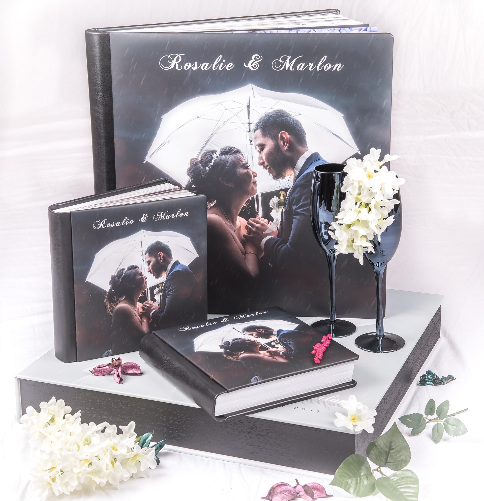 Package 4 Deal: 1 Album 40x40cm + Heavy Duty Box + 2 Parent Albums 20x20cm