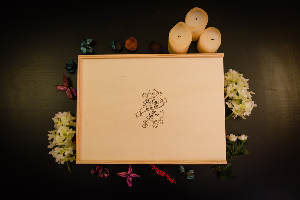 Wooden Box for album