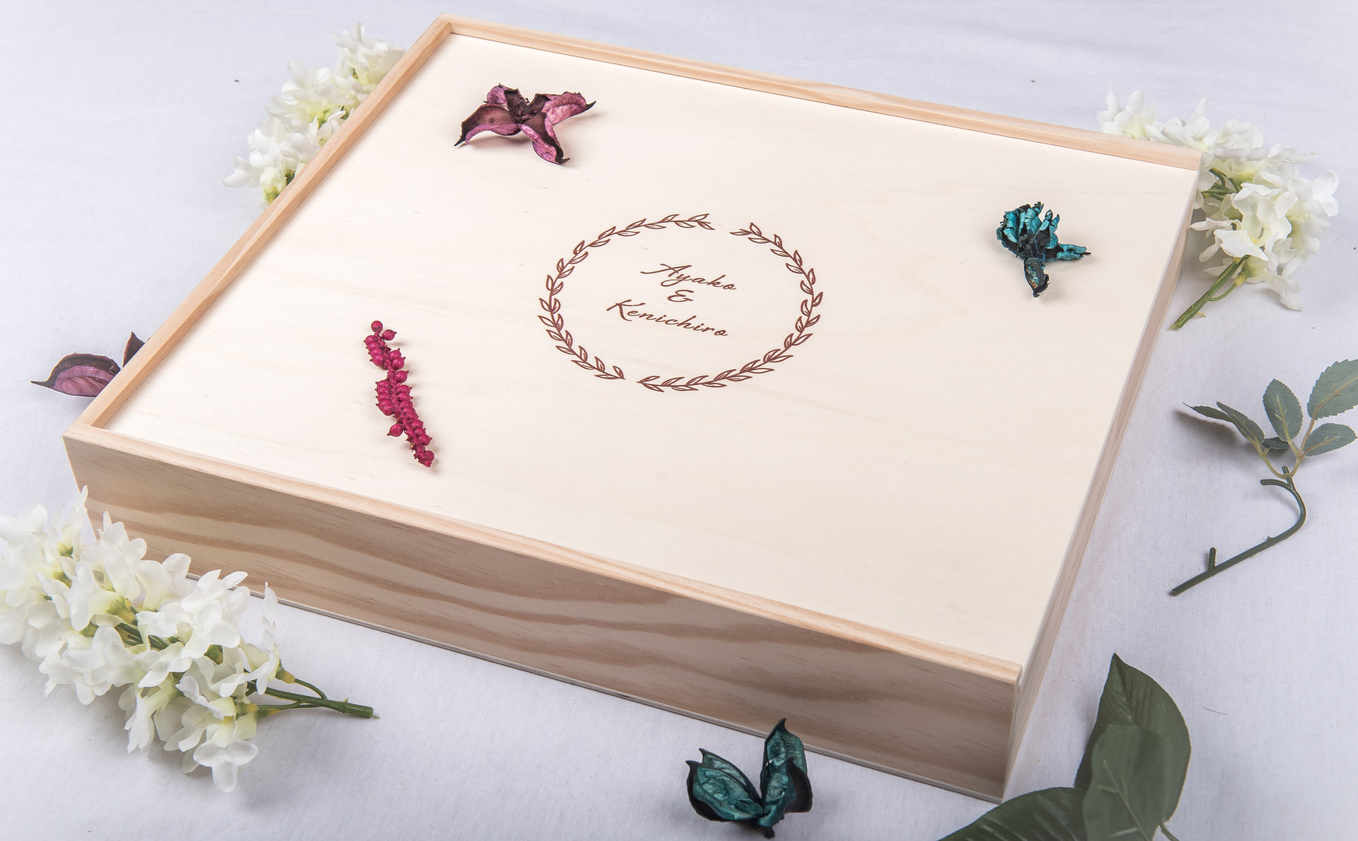 Wooden Box for 40x40cm Album
