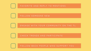 Organically Growing and Managing Your Twitter