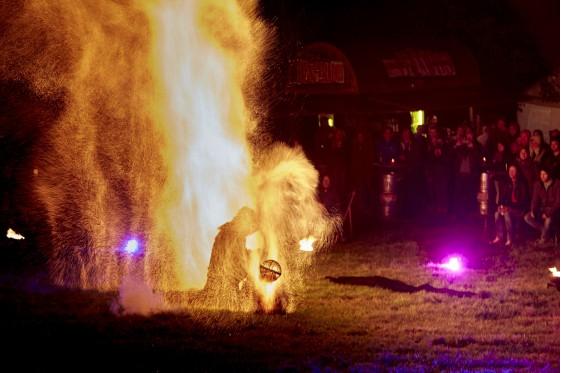 Solomon Solgit - Fire Show