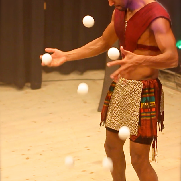 Bouncing Ball juggling