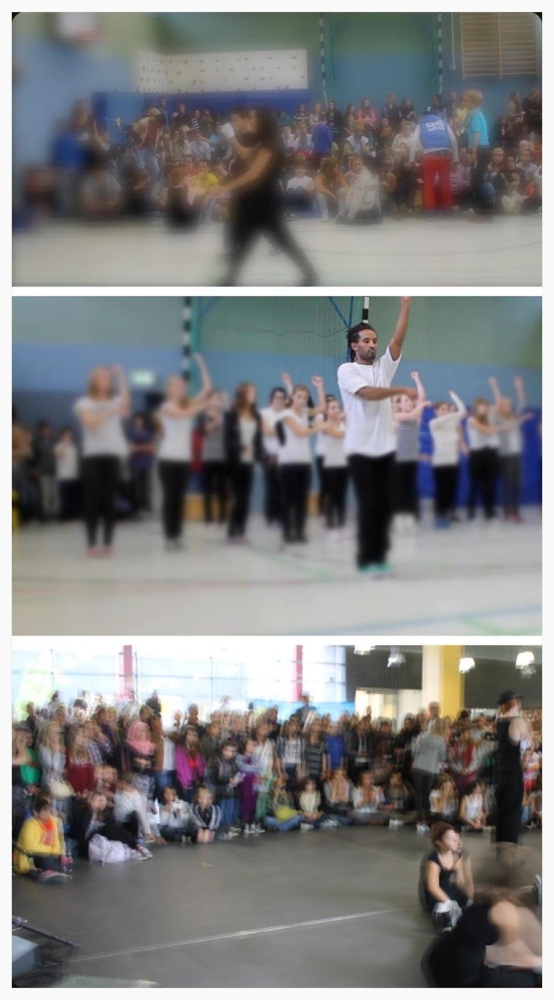 Acro- HipHop - Tanzworkshop