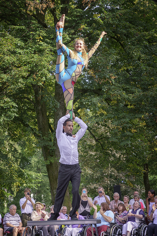 Duo-Akrobatik