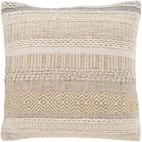 Jute & Wool Woven Pillow
