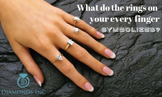 What do the rings on your every finger symbolizes?