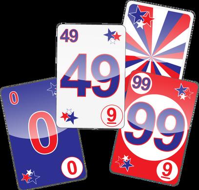 NU PLAYING CARDS®: USA 0, 49, 99