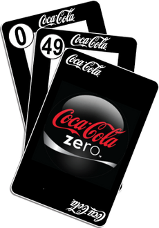 NU PLAYING CARDS®: RE-BRAND - COKE ZERO-