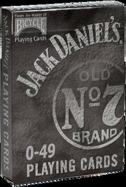 NU PLAYING CARDS®: RE-BRAND - JACK DANIE