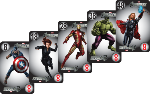 NU PLAYING CARDS®_ RE-BRAND - AVENGERS