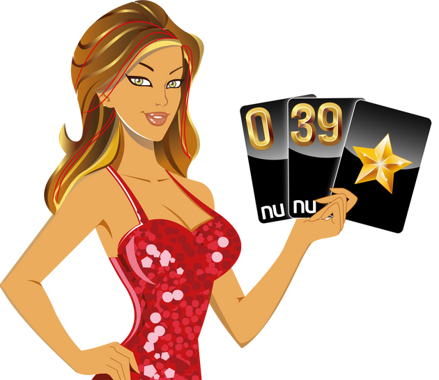 MISS LUCKY: NU CARDS 0,39,L