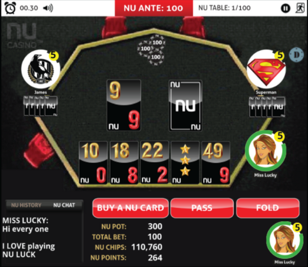 NU LUCK - SOCIAL CASINO GAME