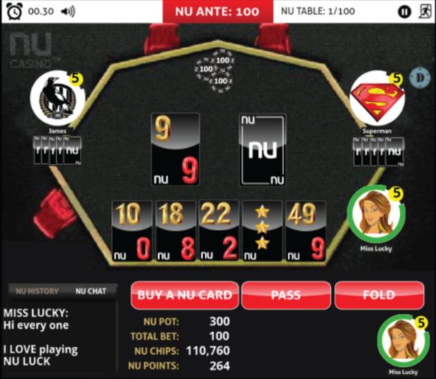 NU LUCK: SOCIAL CASINO GAME