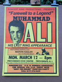 BOXING POSTER LOT 56