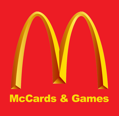 NU PLAYING CARDS®_ RE-BRAND - McDONALD'S