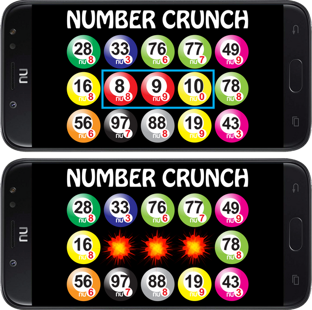 NUMBER CRUNCH: MATCH 3 GAME