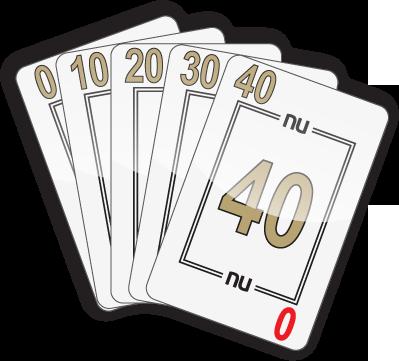GOLDEN STRAIGHT: 0-10-20-30-40