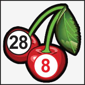NU SLOTS: CHERRY 28-8