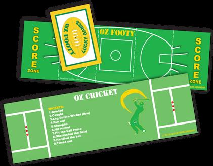 OZ FOOTY & CRICKET FOLD-OUT PLAY FIELDS