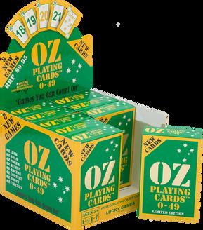 NU PLAYING CARDS®_ OZ DISPLAY BOX & TUCK