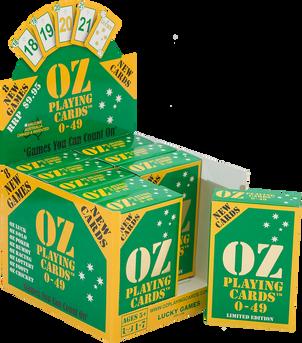 OZ PLAYING CARDS: DISPLAY BOX & TUCK
