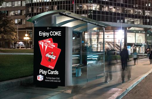 COKE & CARDS BUS STOP