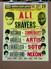 BOXING POSTER LOT 57