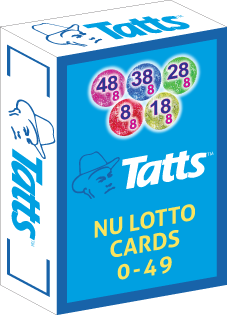 NU RE-BRAND: TATTS NU LOTTO CARD DECK