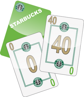 NU PLAYING CARDS®_ RE-BRAND - STARBUCKS