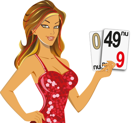 MISS LUCKY - 0, 49 - NU CASINO CARDS