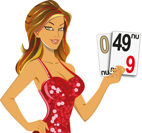 MISS LUCKY: 0, 49 - NU CASINO CARDS