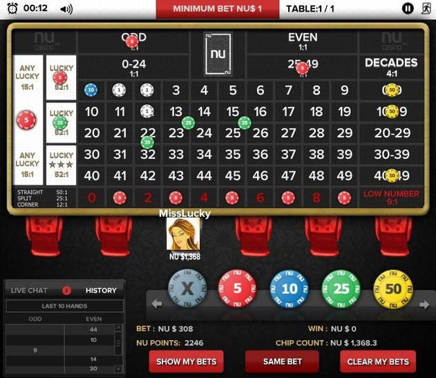 NU Lucky Number 0-49 (L3) - Social Casino Game