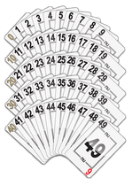 NU PLAYING CARDS®: 5 DECADE SUITS 0-9, 10-19, 20-29, 30-39, 40-49