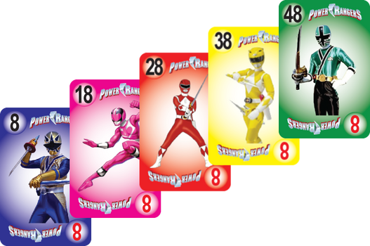 NU PLAYING CARDS®: RE-BRAND - POWER RANG