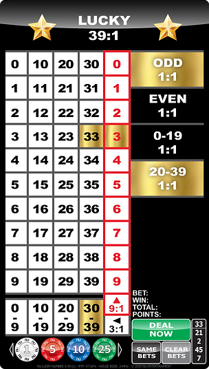 NU LUCKY NUMBER 0-39 (L) - MOBILE LAYOUT