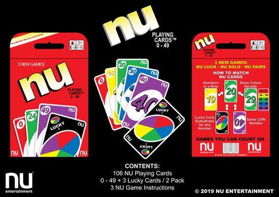 NU PLAYING CARDS®: NU RETAIL
