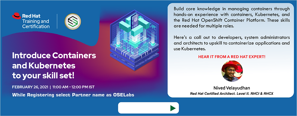 RedHAT 26Feb Kubernetes Webinar AD for W