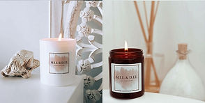 Mil and Dil Candles