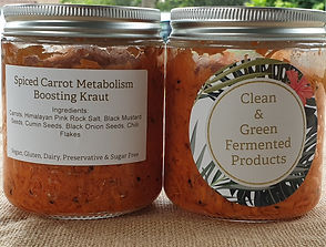Clean & Green Organic Fermented Products