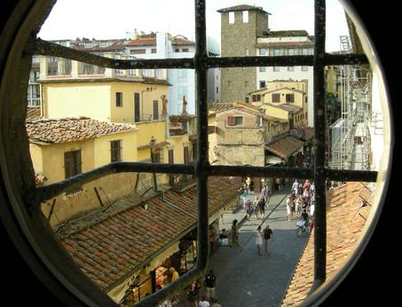 Ponte Vecchio visto dal Vasariano