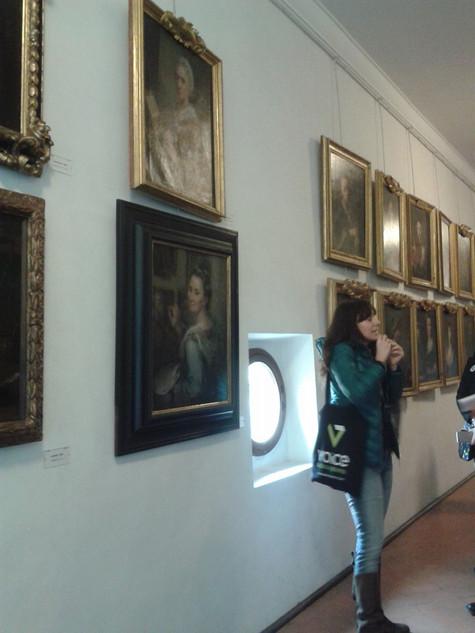 Visita all'interno del Vasariano