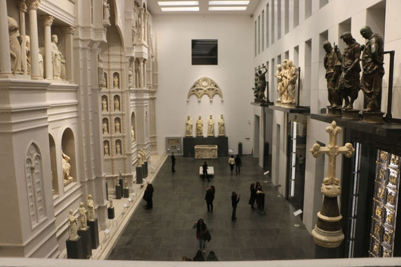 Sala del Paradiso all'interno del Museo dell'Opera