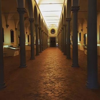 Biblioteca del Convento di San Marco fatta dal Michelozzo
