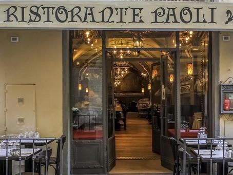 Le antiche trattorie di Firenze. Trattoria Paoli