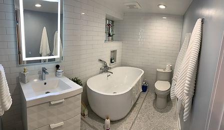 Double Bathroom Extravaganza