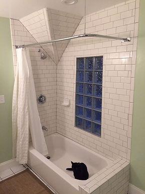 Bathroom In A Unique Space