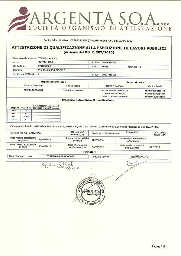 attestato TOMMASINI SRL 13_2_2019_page-0