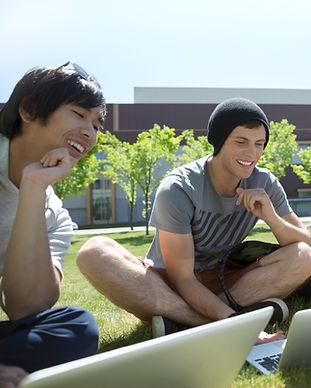 Studying on the Grass