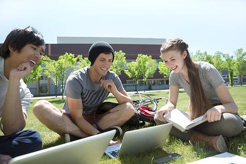 Studiare sull'erba